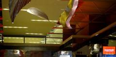 Liście w galerii handlowej Factory w Krawkowie