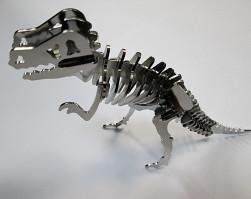 Miniatura dinozaura po procesie trawienia