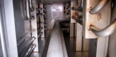 Zbiornik do magazywnowania wody na statkach (przed procesie trawienia)